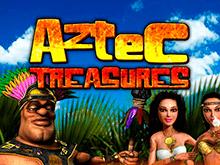 Аппарат Aztec Treasures 3D щедрый на бонусы и реальные выигрыши